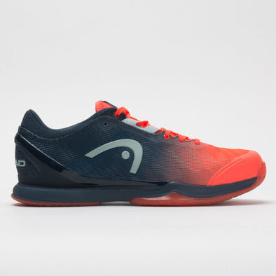 HEAD Sprint Pro 3.0 Indoor Men's Neon Red/Blue