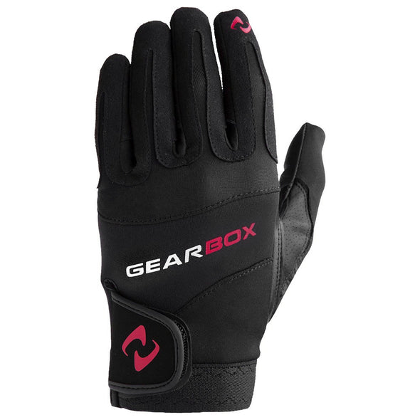 Gearbox Movement Glove Left Red Accent