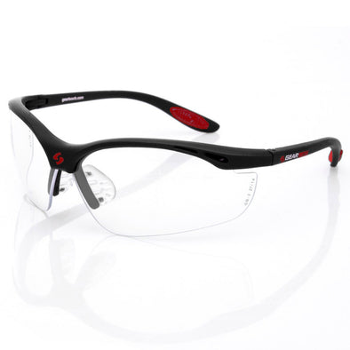 Gearbox Vision Clear Lens Black Frame