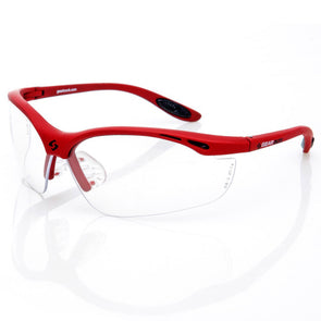 Gearbox Vision Clear Lens Red Frame