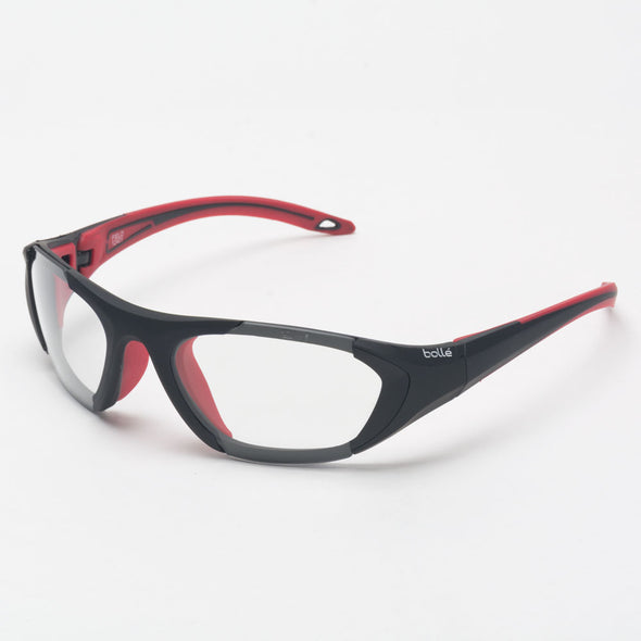 Bolle Field Eyeguards Black/Red