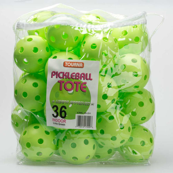 Tourna Strike Indoor Pickleballs 36 Count Tote