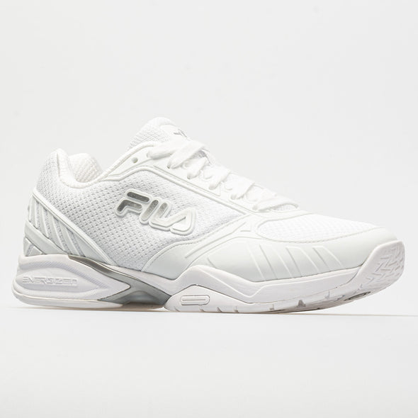 Fila Volley Zone Men's White/Metallic Silver/White
