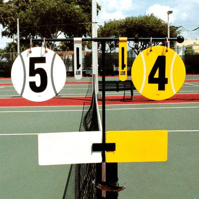 Unique Tennis Court Score Keeper