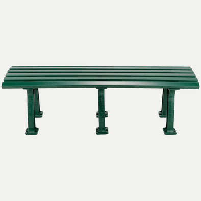Unique 5' Polyethelene and PVC Bench - Green