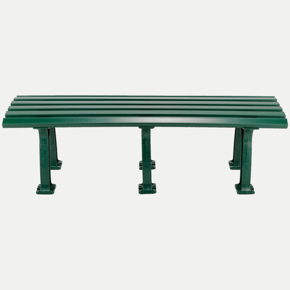 Tourna 5' Polyethelene and PVC Bench - Green