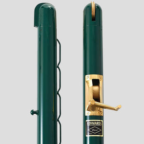 "Edwards 3"" Round 42"" High Posts Green"