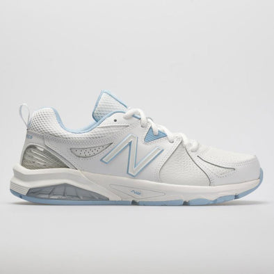 New Balance 857v2 Women's White/Light Blue