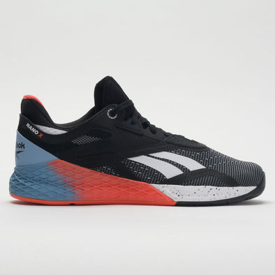 Reebok Nano X Men's Black/White/Vivid Orange