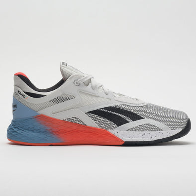 Reebok Nano X Women's White/Fluid Blue/Vivid Orange