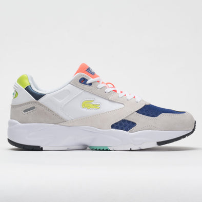 Lacoste Storm 96 Low 0120 1 Men's Light Grey/light Green
