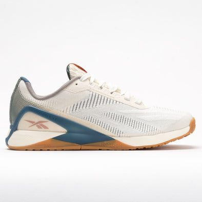 Reebok Nano X1 Grow Men's Classic White/Harmony Green/Brave Blue