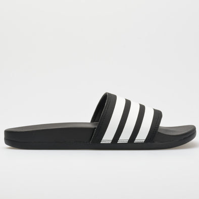 adidas adilette Cloudfoam Plus Women's Black/White