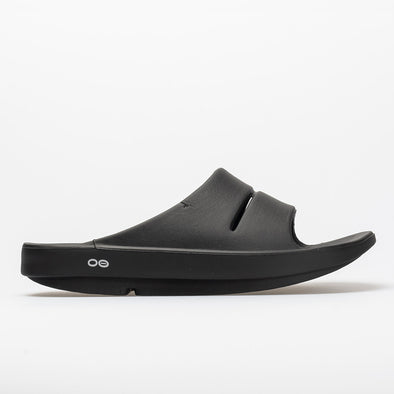 Oofos OOahh Men's Black