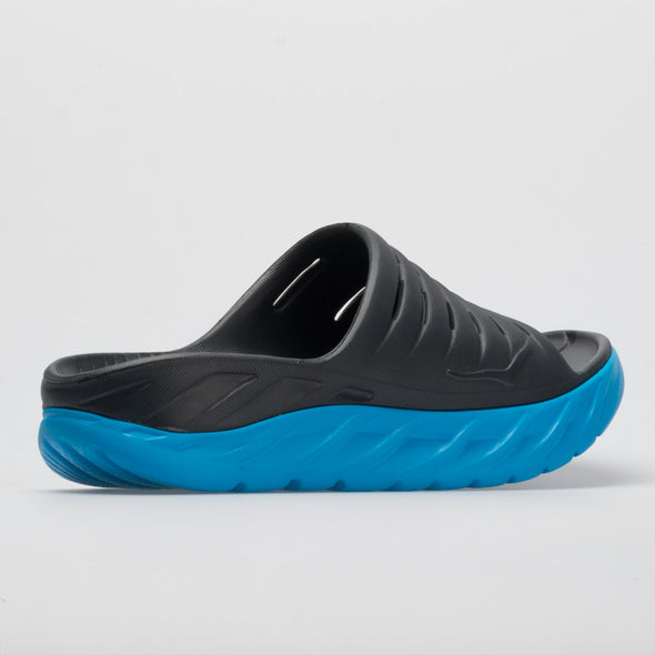 Hoka One One Ora Recovery Slide Men's Ebony/Dresdon Blue
