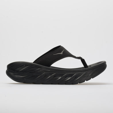 Hoka One One Ora Recvoery Flip Women's Black/Dark Gull Gray