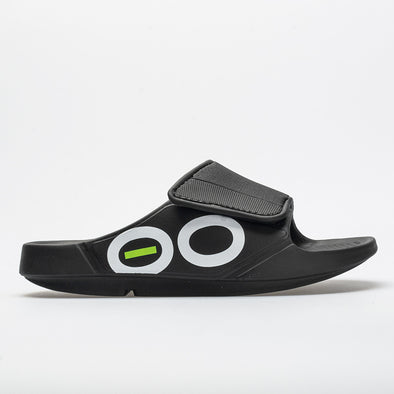 OOFOS OOahh Sport Flex Men's Black/White