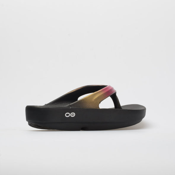 Oofos OOlala Luxe Women's Black/Gold