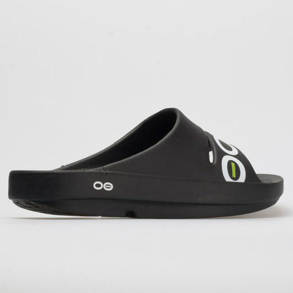 OOFOS OOahh Sport Men's Black/White