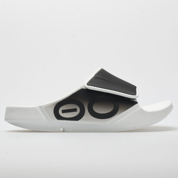 OOFOS OOahh Sport Flex Men's White/Black
