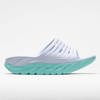 Hoka One One Ora Recovery Slide Women's White/Blue Tint