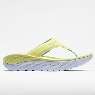 Hoka One One Ora Recovery Flip Women's Luminary Green/Blue Tint