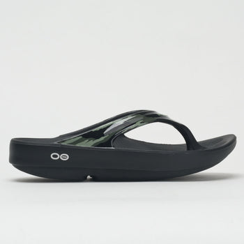 OOFOS OOlala Limited Women's Black/Green Camo (Item #570515)