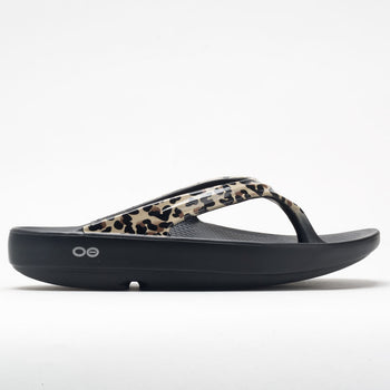 OOFOS OOlala Limited Women's Black/Leopard (Item #570518)