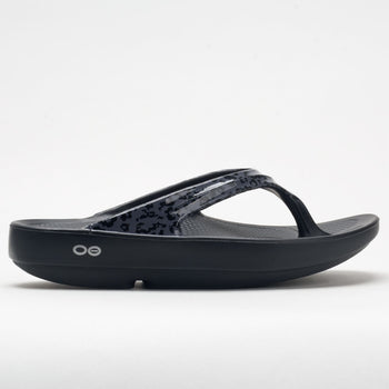 OOFOS OOlala Limited Women's Gray Leopard (Item #570533)