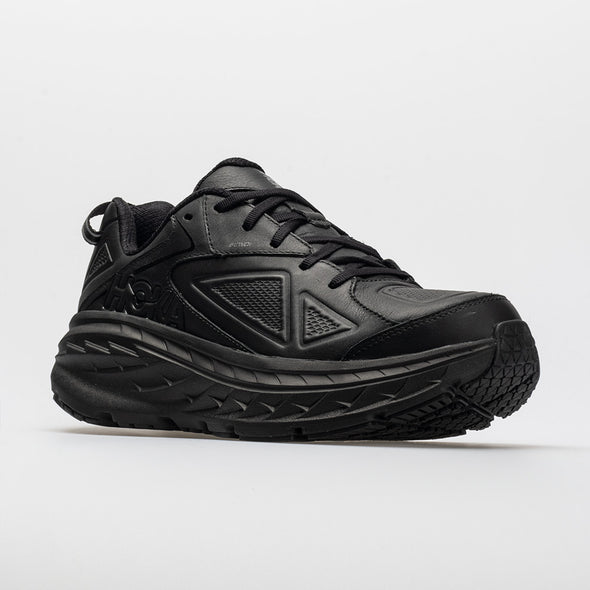 Hoka One One Bondi Leather Men's Black