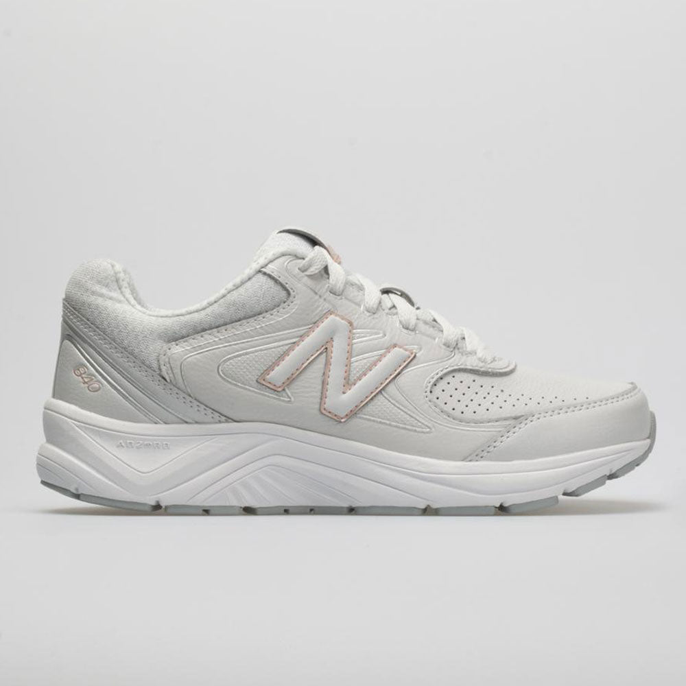 timeless design 23705 7f3ad New Balance 840 v2 Women s Walking Shoes Gray Rose Gold Size 10 Width D -