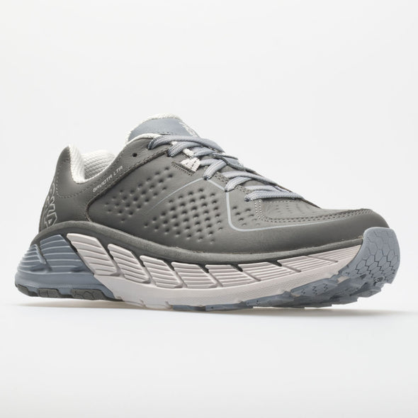 Hoka One One Gaviota Leather Men's Charcoal/Tradewinds