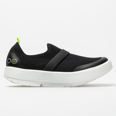Oofos OOmg Low Women's Black/White