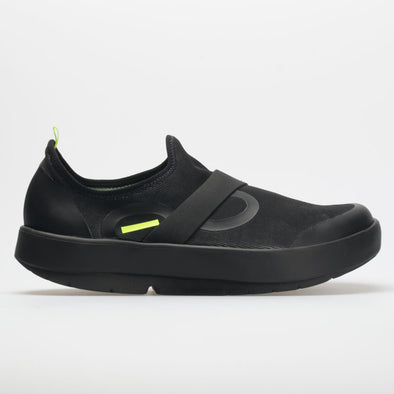 OOFOS OOmg Low Fibre Men's Black/Black