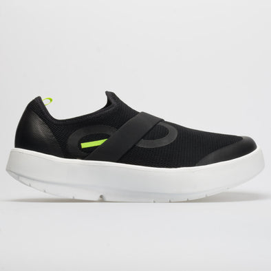 OOFOS OOmg Low Men's Black/White