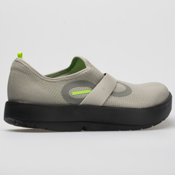 Oofos OOmg Low Men's Gray/Black