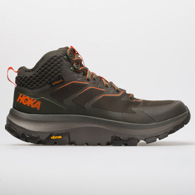 Hoka One One Toa Men's Black Olive/Orange