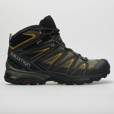 Salomon X Ultra 3 Mid GTX Men's Castor Gray/Black/Green Sulphur
