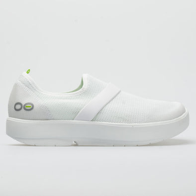 OOFOS OOmg Low Women's White/White
