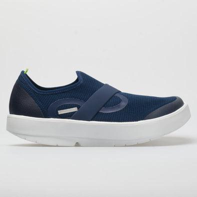 OOFOS OOmg Low Men's White/Navy