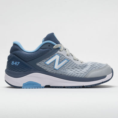 New Balance 847v4 Women's Light Aluminum/Vintage Indigo/Team Carolina