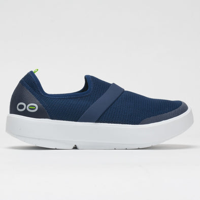 OOFOS OOmg Low Women's White/Navy
