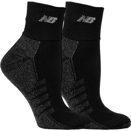 347f71700fa27 New Balance Quarter with Coolmax Black Socks 2 Pack – Holabird Sports