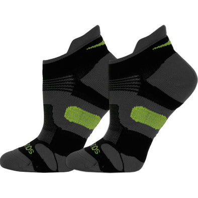Saucony XP Lite Cushion No Show Tab Socks 2 Pack