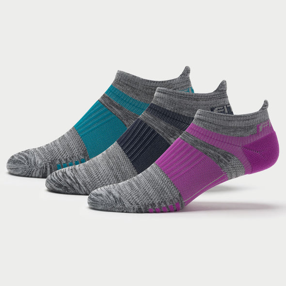 Fitsok Q5 No-Show Socks 3 Pack