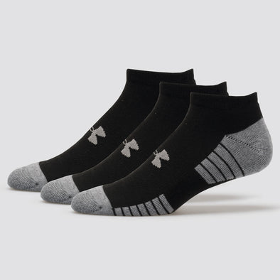 Under Armour HeatGear Tech No Show Socks 3 Pack Men's
