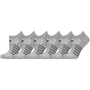 New Balance Lifestyle No Show Socks 6 Pack