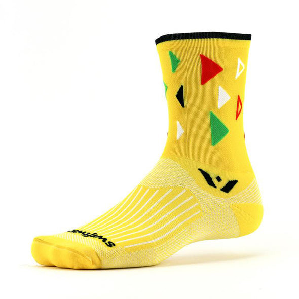 Swiftwick Vision Five Fiesta Crew Socks