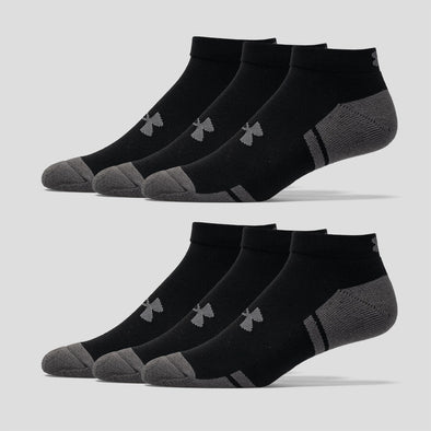 Uner Armour Resistor III Lo Cut Socks 6 Pack Men's
