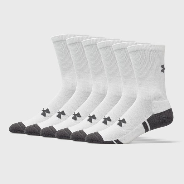 Under Armour Resistor III Crew Socks 6 Pack Men's